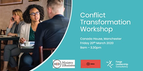 Ministry 2 Business Conflict Transformation Workshop tickets