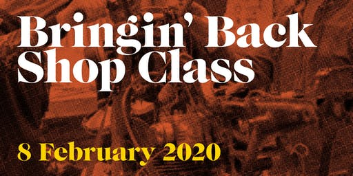 MOTOGO - BRINGIN' BACK SHOP CLASS - 2020