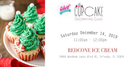 Cupcakes with Mom - cupcake decorating class tickets