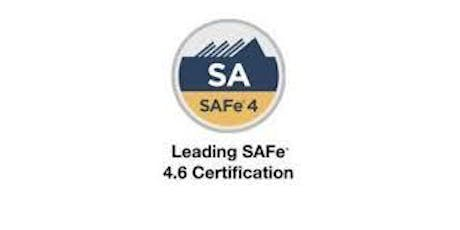 Leading SAFe 4.6 Certification 2 Days Training in Singapore tickets