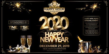 (HHS) Happy Hour Singles Houston Happy New Years 2019 tickets