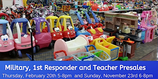 Teachers, Military and 1st Responder Presale Event - Spring 2020