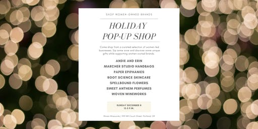 Women-owned Holiday Pop-up Shop