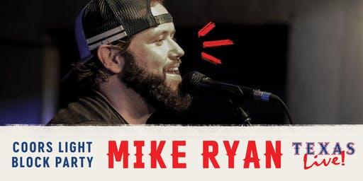 Coors Light Block Party: Mike Ryan