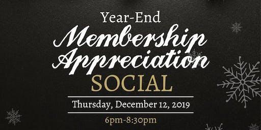 Year-End Membership Appreciation Social