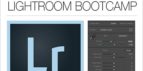 LIGHTROOM BOOTCAMP - DEC 29th - Taught by Justin Haugen Photography tickets