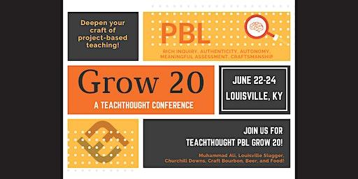 TeachThought PBL Grow 20