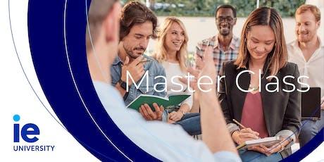 """Master Class: """"Del alineamiento de la estrategia... a la alineación en el partido"""" entradas"""