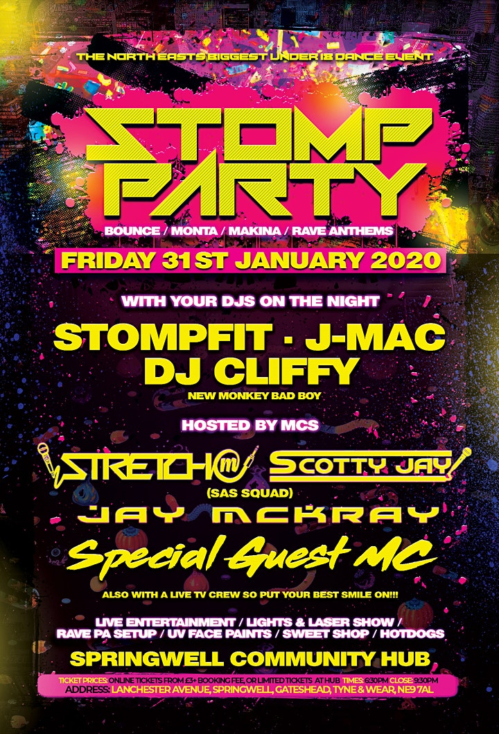 STOMPPARTY | THE NORTH EASTS BIGGEST UNDER 18s DANCE EVENT image