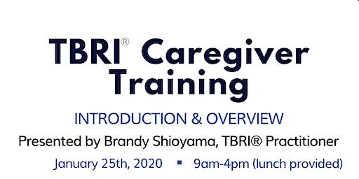 TBRI Caregiver Training Round 1