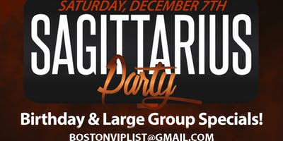 SAGITTARIUS PARTY @The Greatest Bar