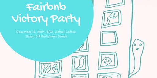 Fairbnb Victory Party