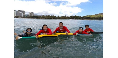 1 Hour Family Bodyboarding Lessons (2020-04-01 starts at 3:00 PM) tickets