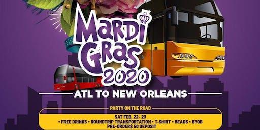 Mardi Gras 2020 Party Bus Turn Around Trip