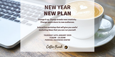 New Year New Plan tickets