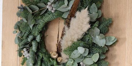 Luxury Christmas Wreath & Garland Making Workshop tickets