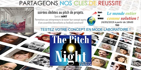 "Pitch night Paris spécial ""ART"" billets"