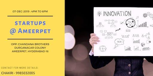 Startups @ Ameerpet