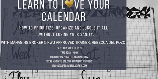 Learn to Love Your Calendar