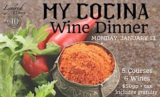 My Cocina Lynfred Wine Dinner