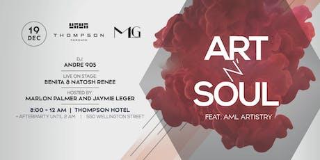 Art n' Soul tickets