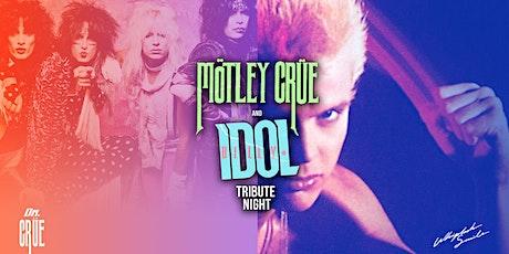BILLY IDOL / MOTLEY CRUE Tribute Night tickets
