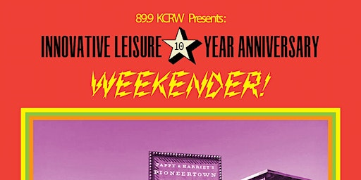 Innovative Leisure 10 Year Anniversary Weekender!