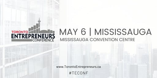 Toronto Entrepreneurs Conference & Tradeshow - May 6th, 2020