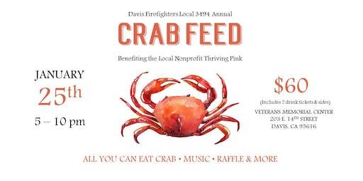 Davis Firefighters Crab Feast