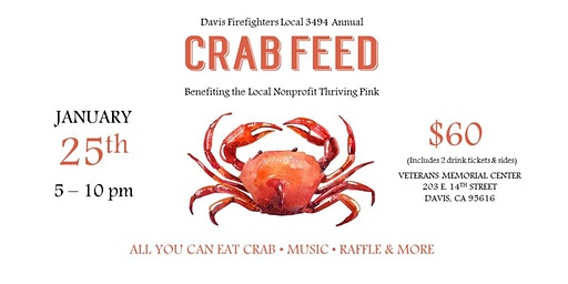 Davis Firefighters Crab Feast
