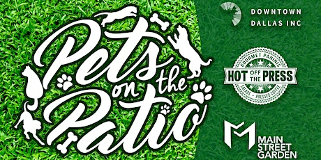 """MARCH 7TH """"PETS ON THE PATIO"""" - VENDOR TABLE tickets"""