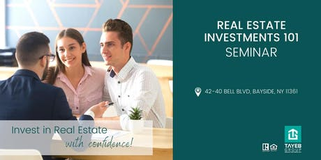 Real Estate Investments 101| Seminar tickets