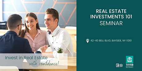 Real Estate Investments 101  Seminar tickets