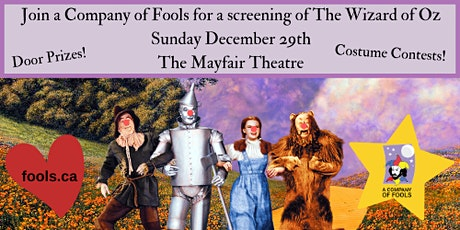 Screening of The Wizard of Oz (1939) tickets