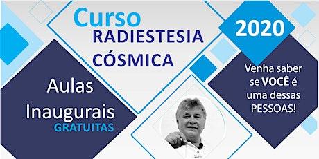 Aula Inaugural Radiestesia Cósmica 2020 SÂO PAULO ingressos
