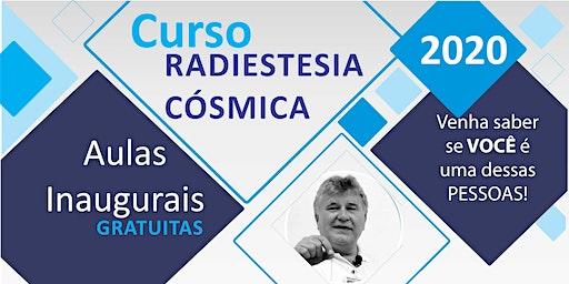 Aula Inaugural Radiestesia Cósmica 2020 SÂO PAULO