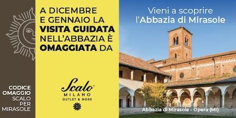 Visite guidate all'Abbazia di Mirasole omaggiate da Scalo Milano Outlet & More biglietti