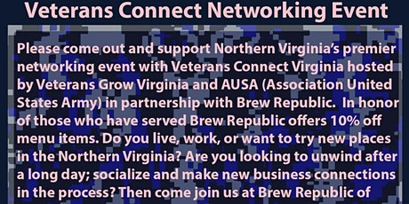 Veterans Professional Networking Event tickets