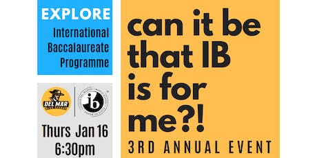 Can it be that IB is for me?! tickets