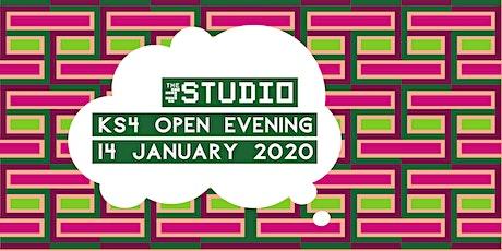 The Studio - KS4 open evening tickets