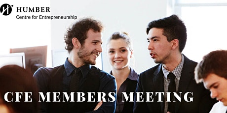 CfE Members Meeting NORTH CAMPUS tickets