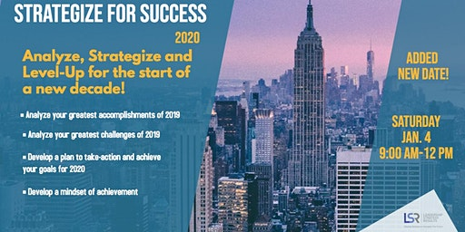 Strategize for Success in 2020  - January Workshop
