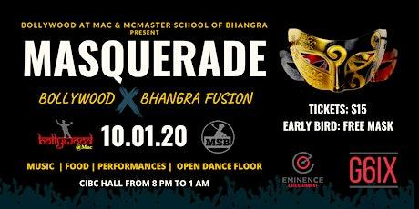 Masquerade: Bollywood and Bhangra Fusion  tickets