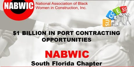 NABWIC $BILLION LUNCHEON IN PORTS CONTRACTING OPPORTUNTIES tickets