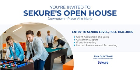 Sekure Open House | Downtown Montreal  tickets