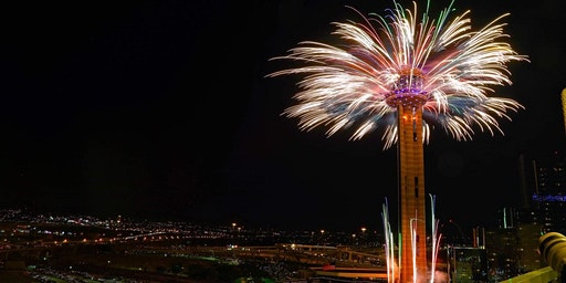 New Year's Eve Celebration & Fireworks Watch Party @ HQ Dallas Rooftop Bar
