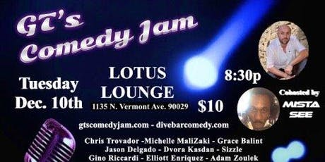 GT's Comedy Jam tickets