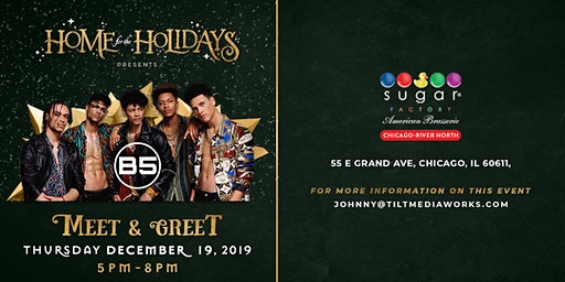 HOME FOR THE HOLIDAYS WITH B5 AT SUGAR FACTORY: CHICAGO RIVER NORTH