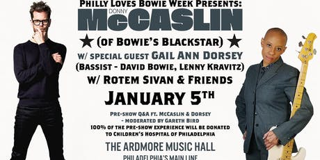 Donny McCaslin (Bowie's Blackstar) w/ Gail Ann Dorsey (Bassist-David Bowie) tickets