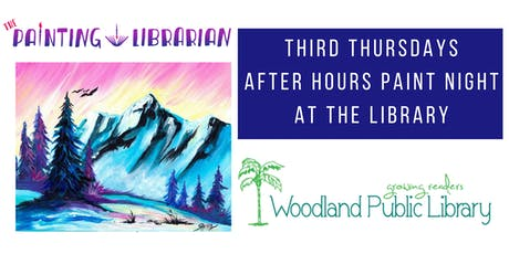 After Hours Paint Night at the Library! tickets